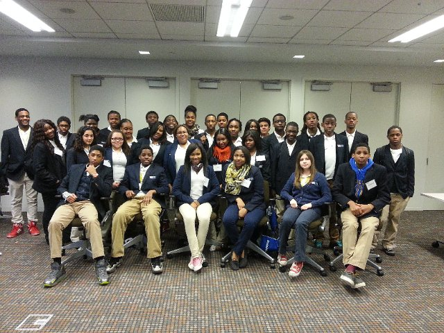 Grade 9 Job Shadowing at Deloitte & Touche